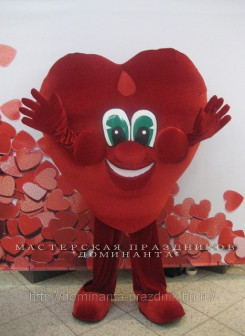 Ростовая кукла Сердце в Новосибирске Сердце на прокат