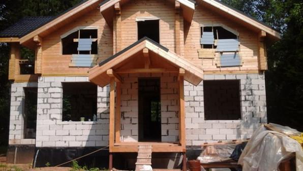 строительство домов и внутренняя отделка