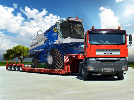 Трактор перевозка спецтехники
