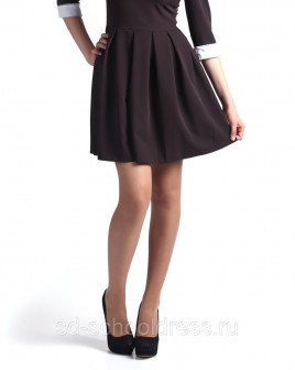 Укоротить длину изделия Платье с пышной юбкой