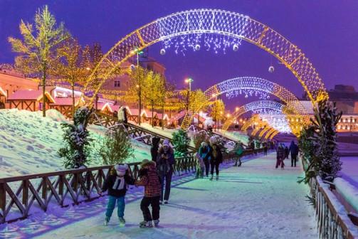 Новый год в Казани автобусный тур из Архангельска 30 декабря 2018 - 3 января 2019 года
