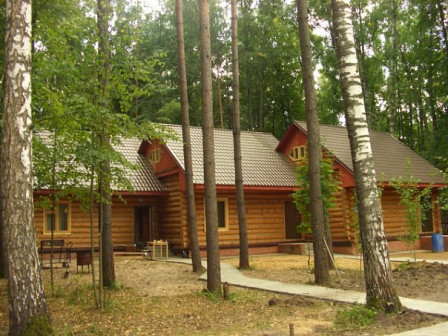 Живописная база отдыха. Казань