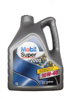 замена моторного масла mobil 10w40