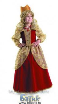 Прокат детского карнавального костюма «Королева»