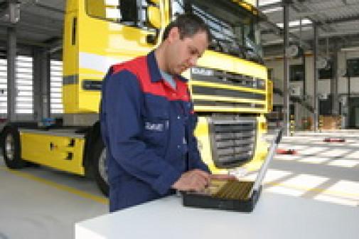 Ремонт и обслуживание грузовых автомобилей