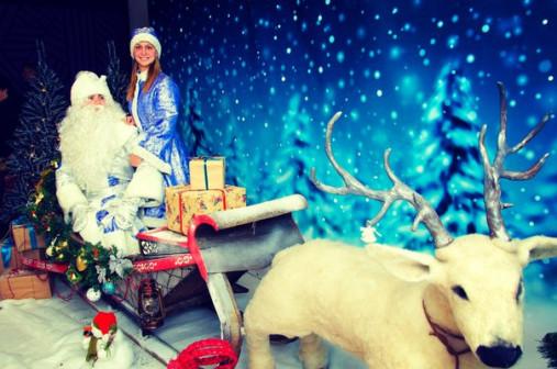 Дед Мороз и Снегурочка в каждый дом с волшебством!