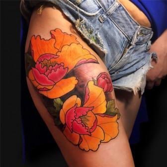 Сеанс татуировки