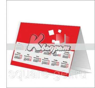 Календарь домик, 1000 шт