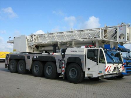 Услуги крана 350 тонн TEREX