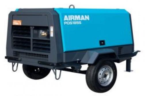 Компрессор 5 кубов AIRMAN PDS 185 для пескоструйных работ