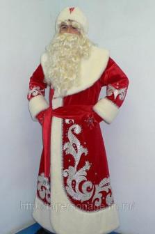 Прокат театрального костюма «Дед Мороз» в Екатеринбурге
