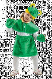 Карнавальный костюм лягушонок для детей мех прокат