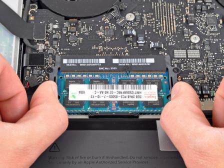 Замена Оперативной памяти у ноутбука