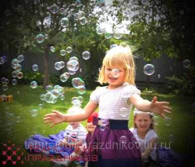 Аренда мыльных пузырей