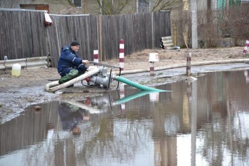 Перекачка, откачка воды с подвалов, котлованов