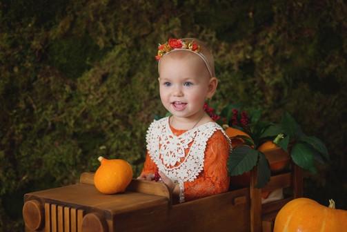 Фотопроект ОСЕННИЙ для малышей от 3 мес до 1,5 лет