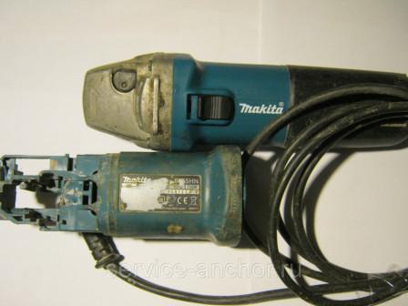 Ремонт углошлифовальной машины Makita 9554NB