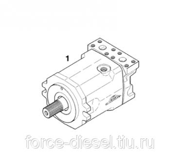 Ремонт гидравлического мотора HMF28 02 9651