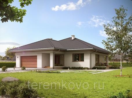 Проект одноэтажного дома 12843 м2