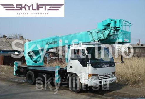 Услуги автовышки 13 метров