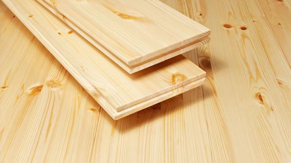 Установка деревянных плинтусов высотой до 90 мм
