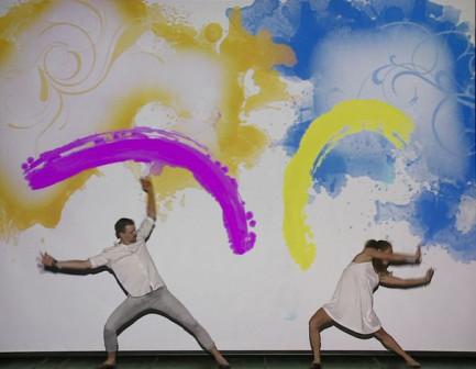 Танцевально-мультимедийное шоу Притяжение