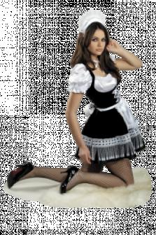Карнавальный костюм горничная прокат