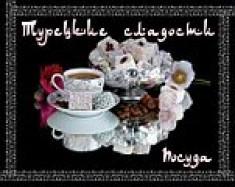 Турецкие сладости и посуда
