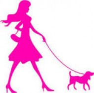 Дама с собачкой, магазин зоотоваров