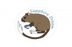 Sapphire Dream, питомник монгольских песчанок
