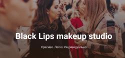 Black Lips makeup studio