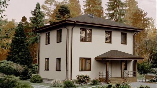 Дом Сумароково из газобетона