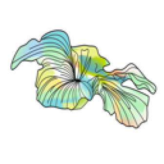 Azur de fleur