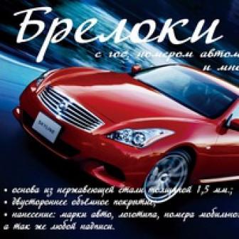 Светлана Брелоки-С-Гос-Номером-Автомобиля Белгород