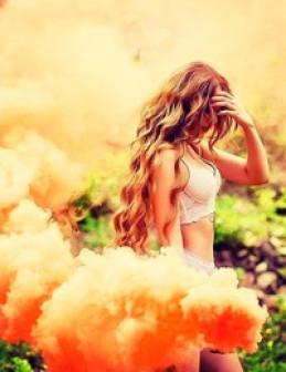 Дым Цветной